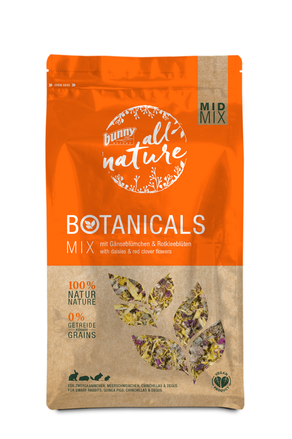 Bunny Nature Botanicals Daisies & Red Clover Flowers (120g)
