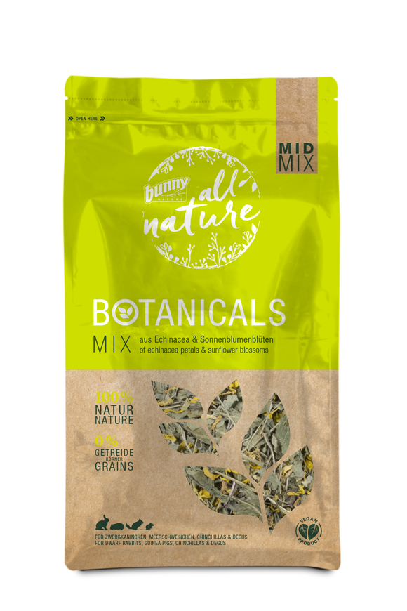 Bunny Nature Botanicals Echinacea Petals & Sunflower Blossoms (140g)