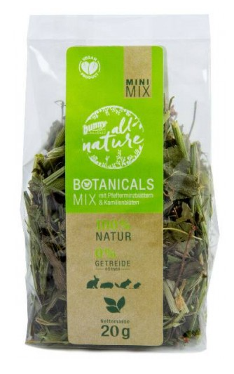 Bunny Nature Mini Mix with Peppermint Leaves and Chamomile Blossoms 20 g