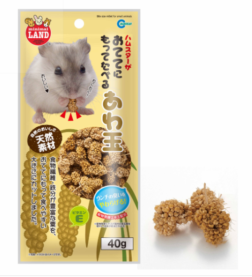 Marukan Bite Size Millet For Small Animal (40g)