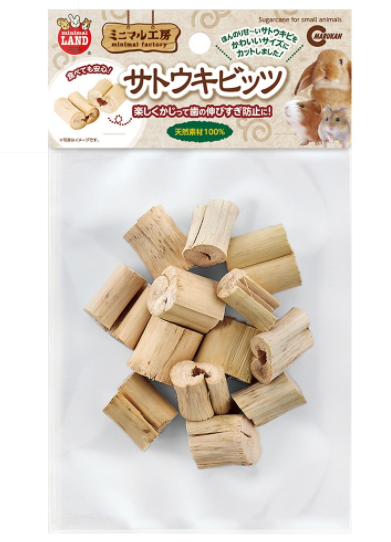 Marukan Natural Sugarcane Chew (40g)