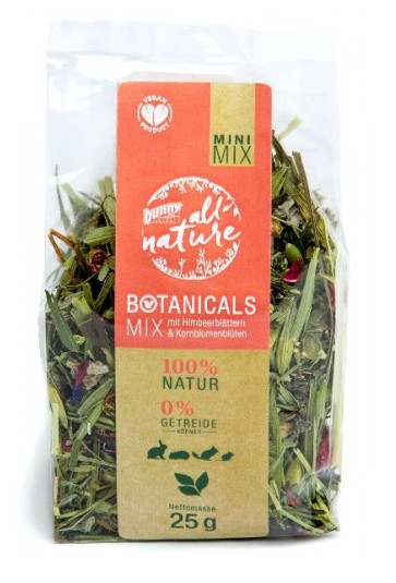 Bunny Nature Mini Mix with Raspberry Leaves and Cornflower Flowers 25 g