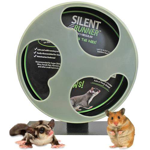 Exotic Nutrition Silent Runner Wheel | Glow 12
