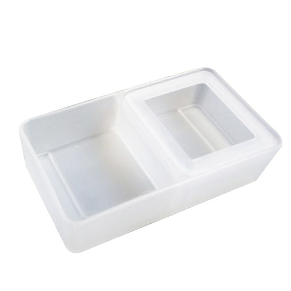 The Burrow Mealworm Feeder White