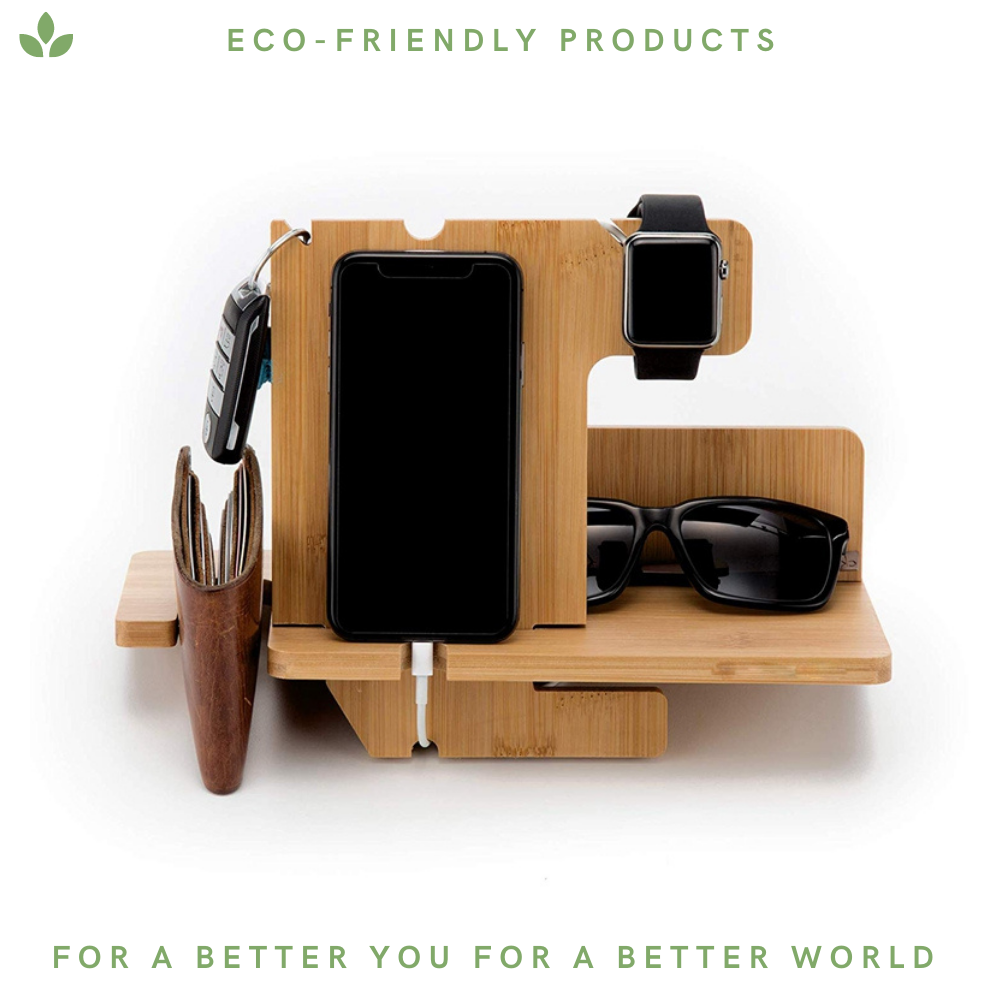 Bamboo Multiple Docking Station