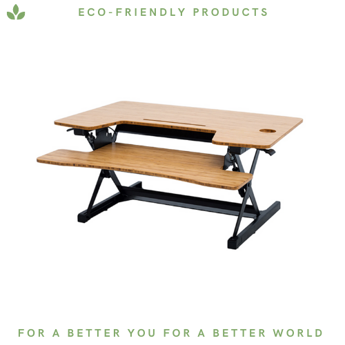 Bamboo Foldable Standing Desk