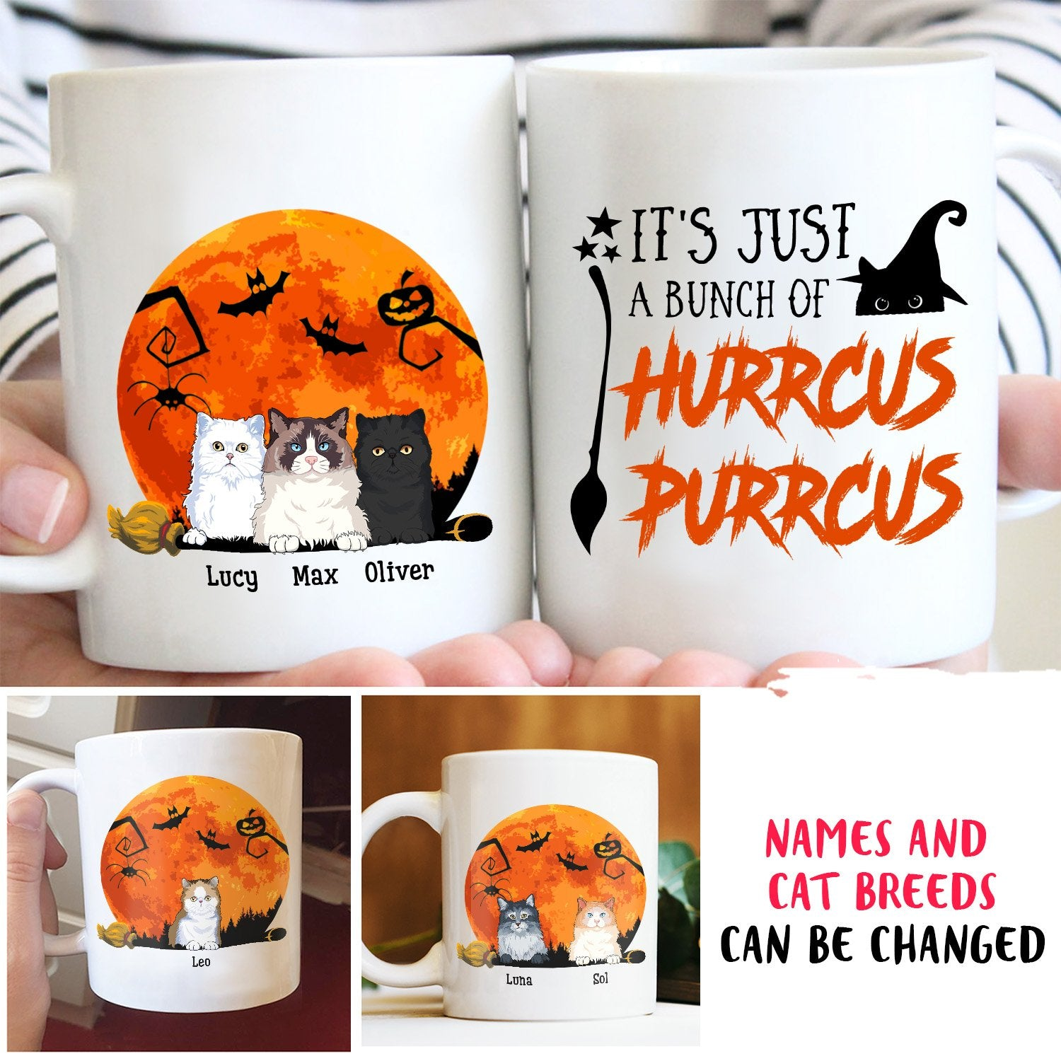 Hurrcus Purrcus - Personalized Custom Mug