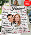 Husband Wife - Thank You For Being A Great Life Partner - Personalized Custom Quilt