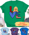 Love For Dog - Personalized Custom Premium T-shirt