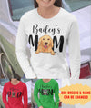 Dog Mom/Dad - Personalized Custom Unisex Long Sleeve