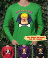 HAPPY HOWLOWEEN - PERSONALIZED CUSTOM CLASSIC LONG SLEEVE