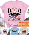 DOG 2020 BECAUSE HUMANS SUCK - PERSONALIZED CUSTOM T-SHIRT