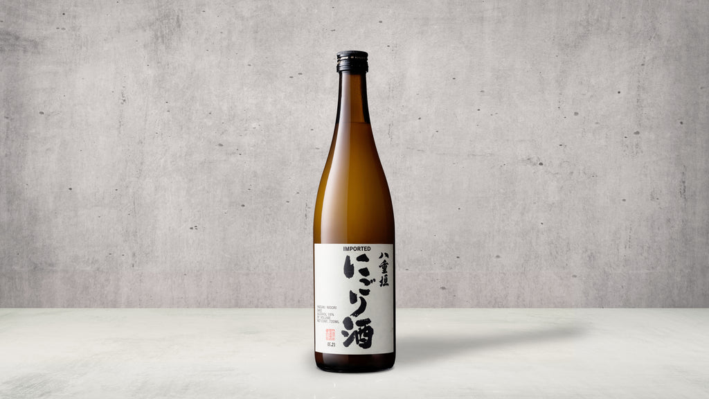 Yaegaki Nigori - Nigori is an unfiltered sake with a sweet taste and a milky color. Masterfully blended to create a nigori sake that separates itself from others. This bottle uses Yamada-Nishiki, the best sake-brewing rice in Japan.