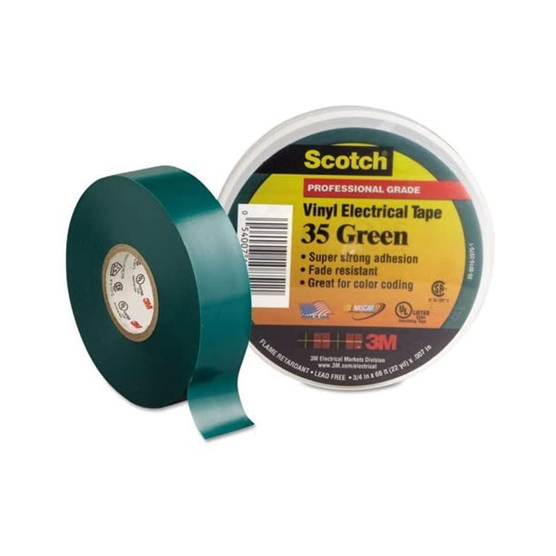 3M Scotch Vinyl Colour Coding Tape 35 3/4'' X 66' Green