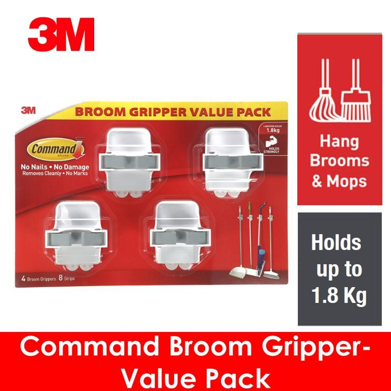 3M Command Broom Gripper Value Pack
