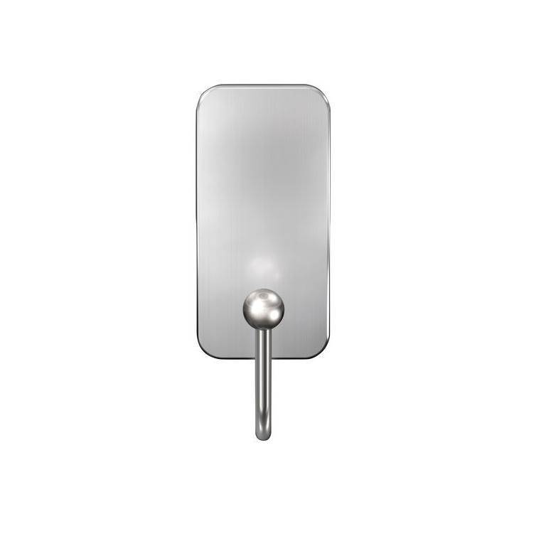 3M Command Satin Nickel Large Double Hook/1.8 Kg
