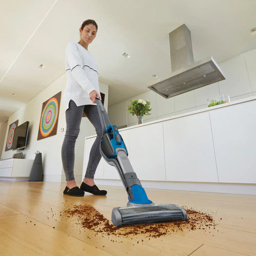 Black & Decker 2-in-1 18V Li-On Floor Smart Tech Vacuum/Hand Stick Vacuum