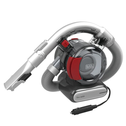 Black & Decker 12V Flexible Car Vacuum Cleaner With Car Power Adaptor/5 Meter Cord