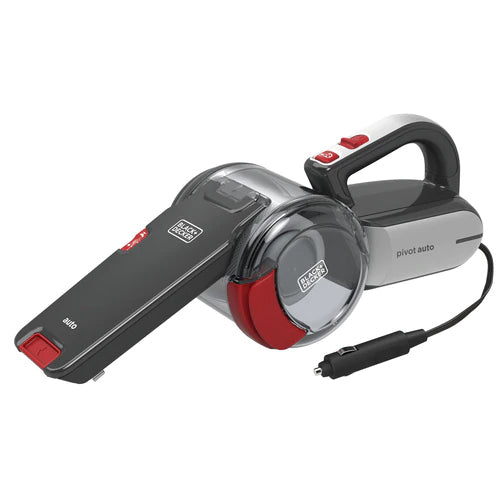 Black & Decker Auto Dustbuster Pivot 12V With Accessories 5 Meter Cord