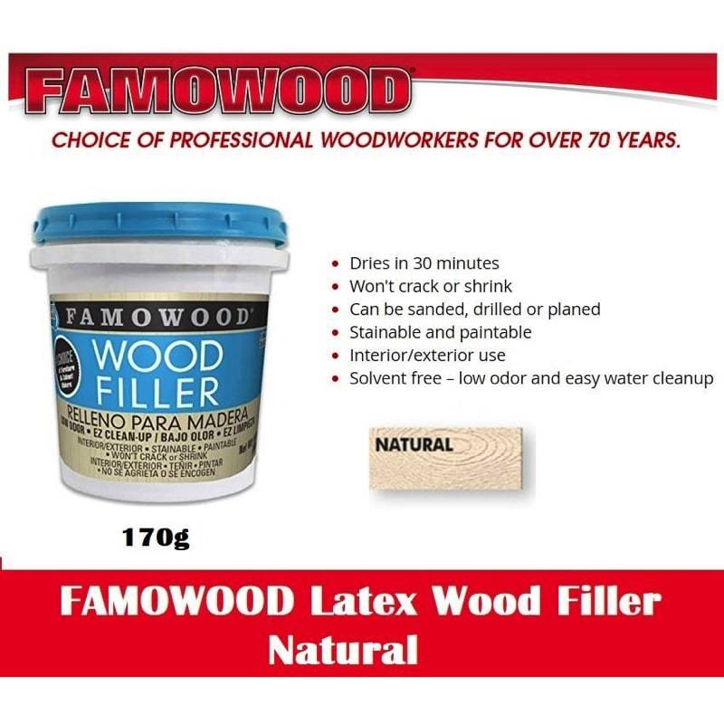Famowood Filler (Natural) 6 Oz/170 gm