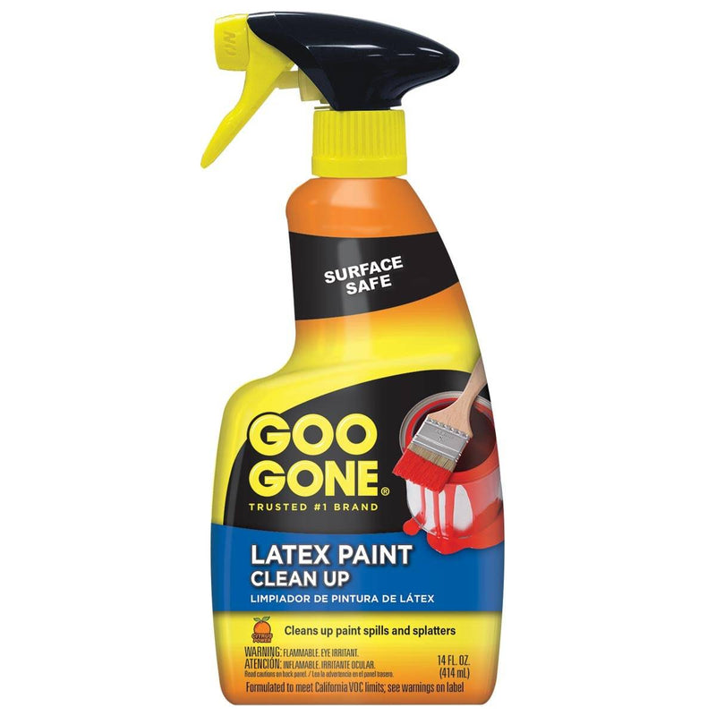 Goo Gone Latex Paint Clean Up, 14 Fl. Oz