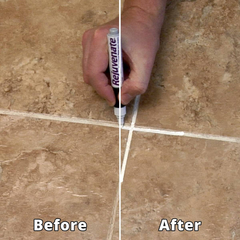 Rejuvenate Grout Renewer Pens, White 2 Pcs/Pack