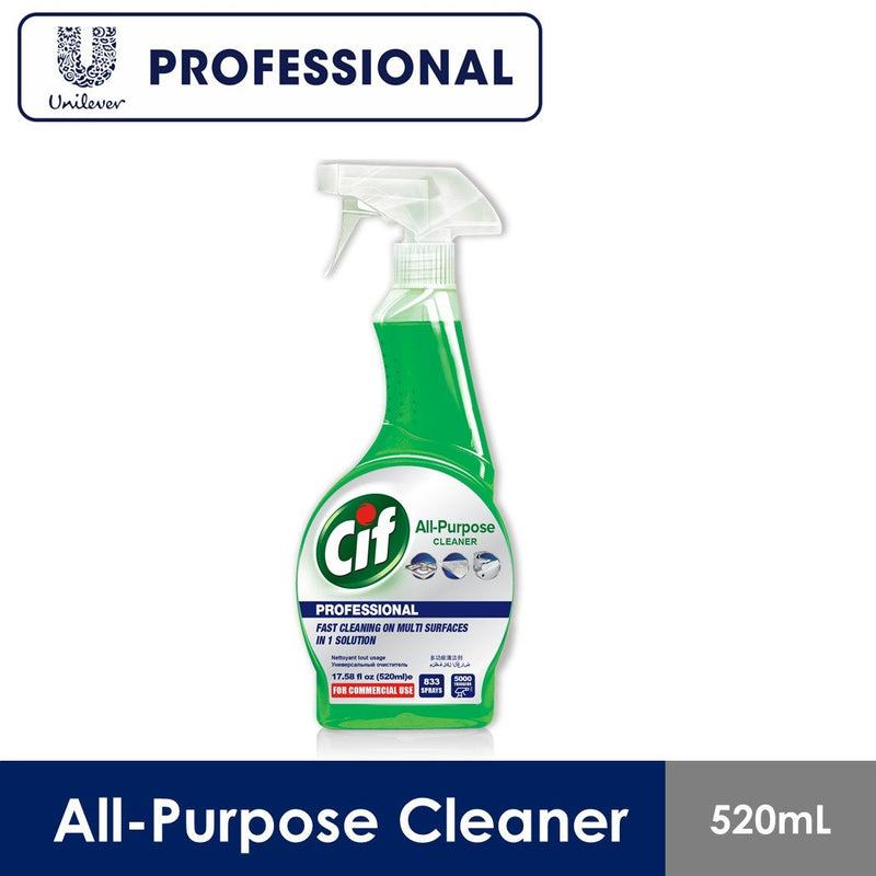 Cif All Purpose Cleaner Spray 520 ml