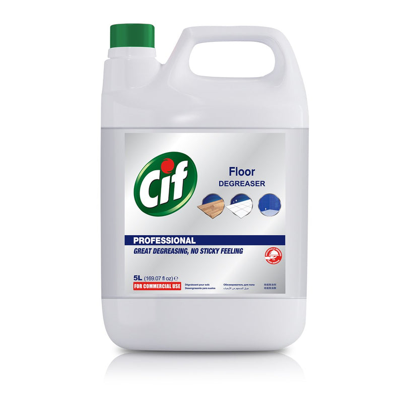 Cif Floor Cleaner Degreaser 5 Litre