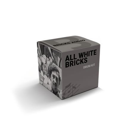 All White Bricks - Drum Kit