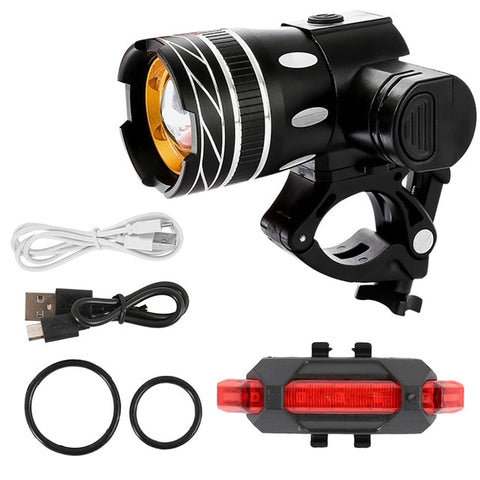 West Biking PWR Mountain T6 LED Frontlicht
