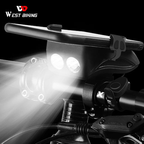 WEST BIKING 4 In 1 Taschenlampe