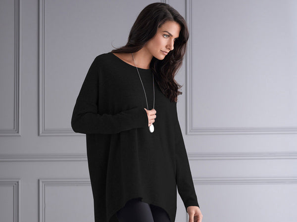 Mia Fratino Favourite Scoop Sweater - CAMELIA