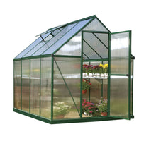 Load image into Gallery viewer, Mythos 6' x 8' Greenhouse - Green