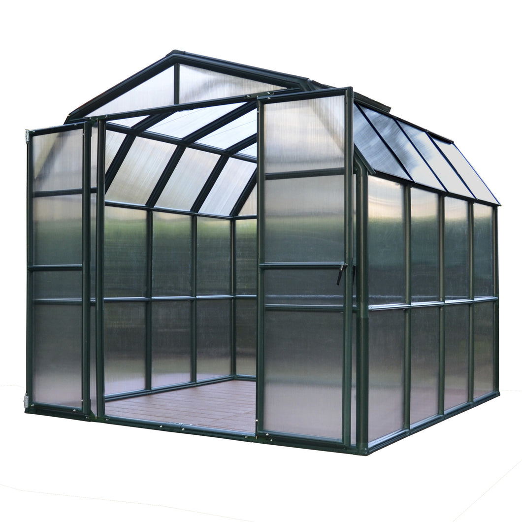Grand Gardener 8' x 8' Greenhouse - Twin Wall