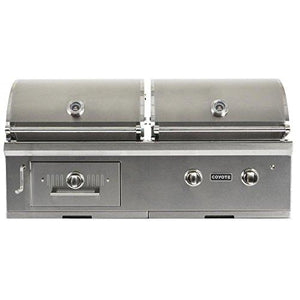 Coyote 50-inch Built in Hybrid Grill Propane (LP)