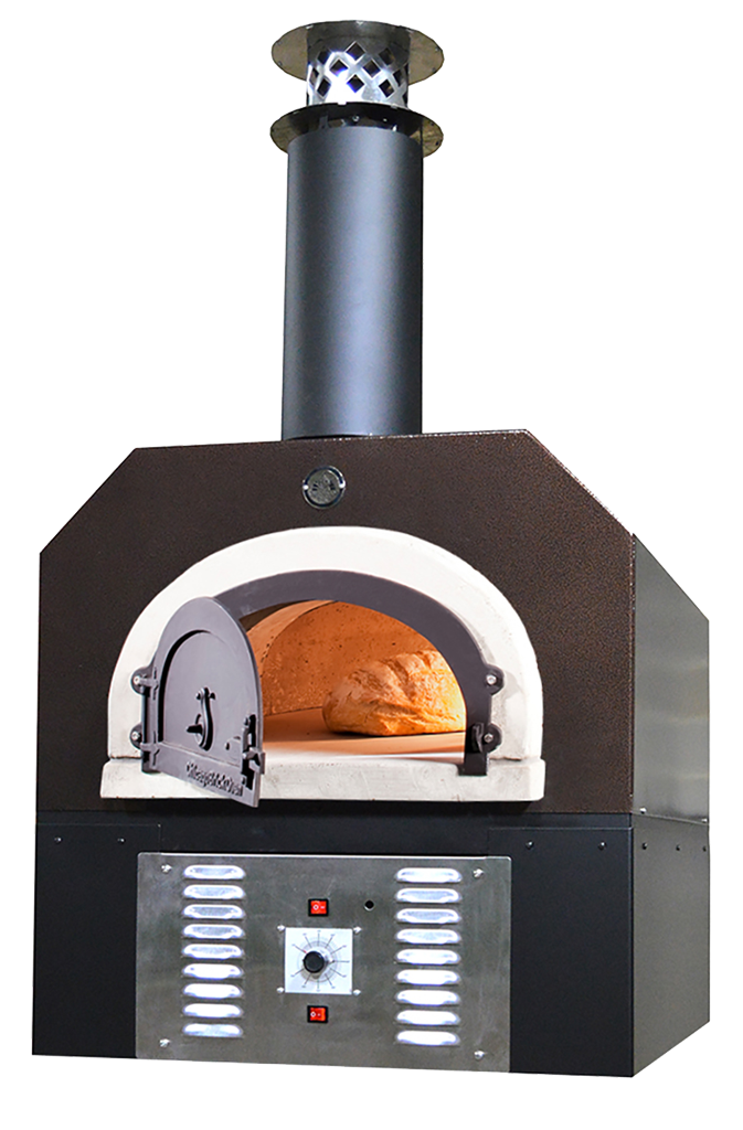 Chicago Brick Oven-750 Hybrid Countertop Residential Oven 38x28-inch Cooking Surface Propane Gas