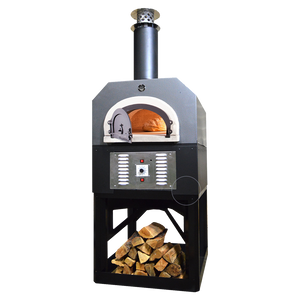 Chicago Brick Oven-750 Hybrid Outdoor Stand Pizza Oven 38x28-inch Cooking Surface Natural Gas
