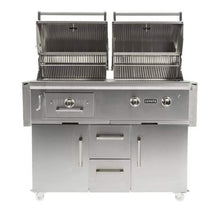 Load image into Gallery viewer, Coyote 50-inch Built in Hybrid Grill Propane (LP)