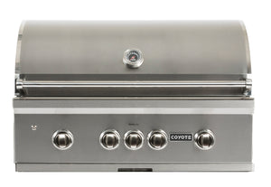 Coyote Pro- S Series 36-inch Grill, 3 Burner, and Rapid Sear™ Burner, Propane (LP)