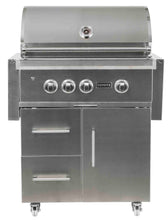 Load image into Gallery viewer, Coyote S Series 30-inch Grill, 2 Burner, and Rapid Sear™ Burner, with Cart, Propane (LP)
