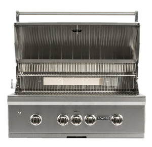 Coyote Pro S-Series 36-inch Grill, 3 Burner, and Rapid Sear™ Burner, Natural Gas (NG)