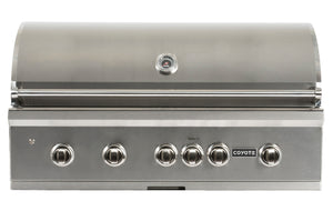 Coyote Pro-Series 42-inch Grill, 4 Burner, and Rapid Sear™ Burner, Propane (LP)