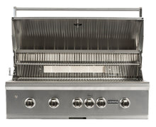 Load image into Gallery viewer, Coyote Pro-Series 42-inch Grill, 4 Burner, and Rapid Sear™ Burner, Propane (LP)