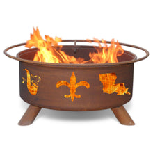 Load image into Gallery viewer, Mardi Gras Fire Pit