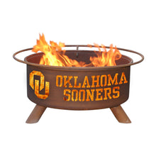 Load image into Gallery viewer, University of Oklahoma Fire Pit