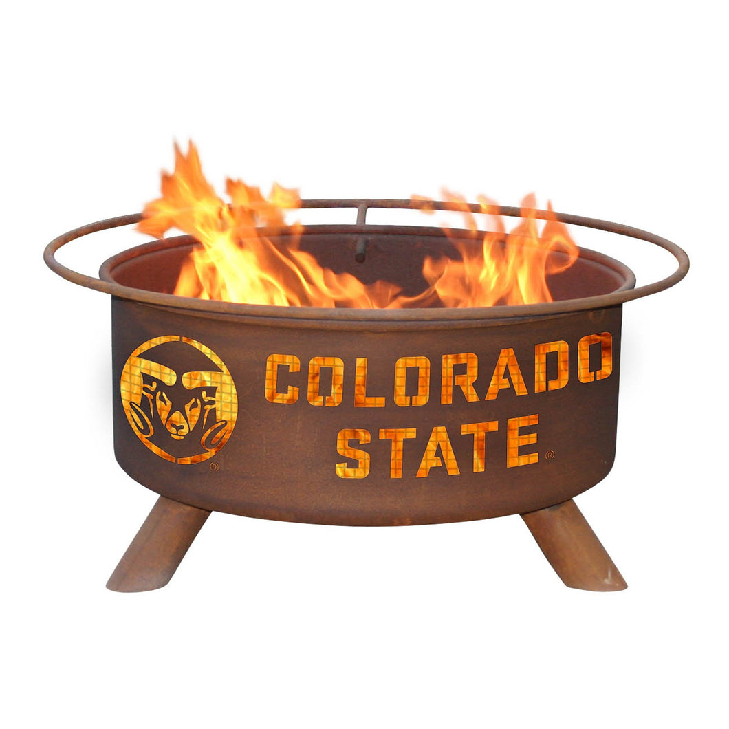 Colorado State Fire Pit