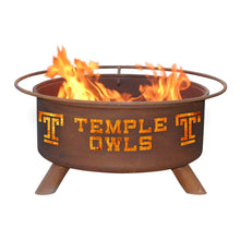 Load image into Gallery viewer, Temple University Fire Pit