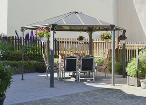 Monaco Hexagon Garden Gazebo