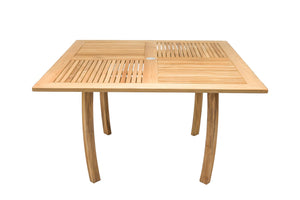 Square Dolphin Table 50