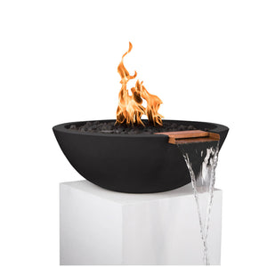 Sedona Fire & Water Bowl 33-inch Electronic Ignition - Natural Gas